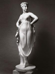 Rzym wystawa Canova - Tancerka