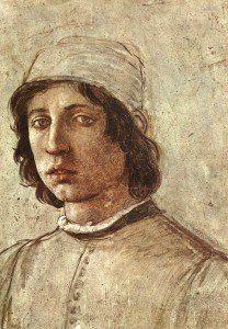 Filippino Lippi - autoportret