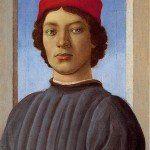 Filippino Lippi - portret młodzieńca w czerwonej czapce