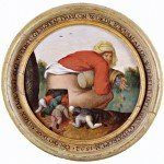 """Obraz """"POCHLEBCY"""" Pietera Brueghela Młodszego"""