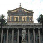 Bazylika św. Pawła za Murami - fasada