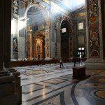 Bazylika św. Piotra - wnętrze