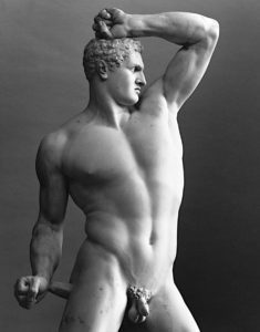 Rzym wystawa Canova - Bokser Creugante