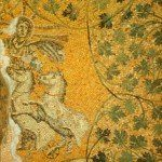 Watykan, Stare groty - Chrystus na rydwanie słońca