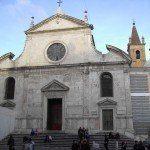 Renesansowa fasada Santa Maria del Popolo
