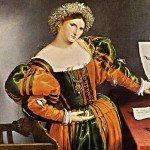 Lukrecja (Borghia?) - Lorenzo Lotto