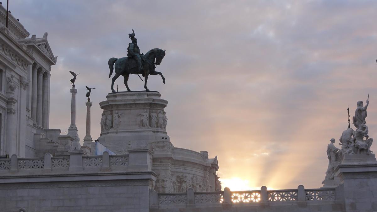 Ołtarz Ojczyzny - pomnik Viktora Emanuela II