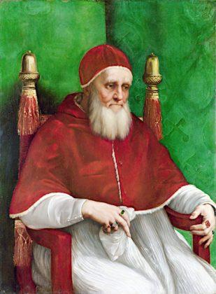 Rafael - Portret papieża Juliusza II