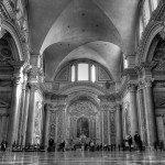 Rzym - bazylika Santa Maria degli Angeli e dei Martiri - wnętrze
