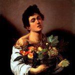 Caravaggio - Chłopiec z koszem owoców