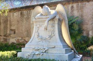 Rzym - cmentarz niekatolicki - grób Emelin Story