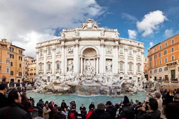 Fontanna Trevi w Rzymie