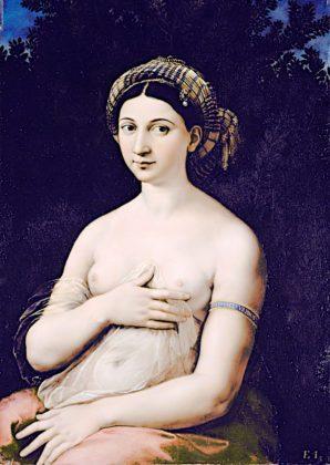 "Rzym, Galeria Barberini - Rafael Santi ""La Fornarina"""