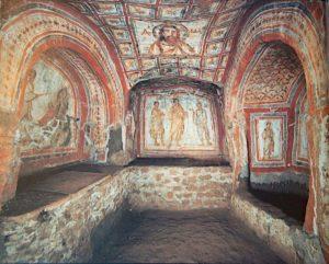 Rzym - katakumby Domitylli