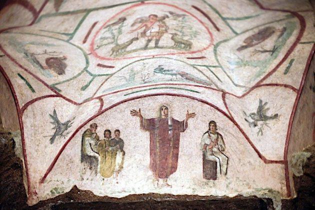 Rzym - katakumby św. Pryscylli