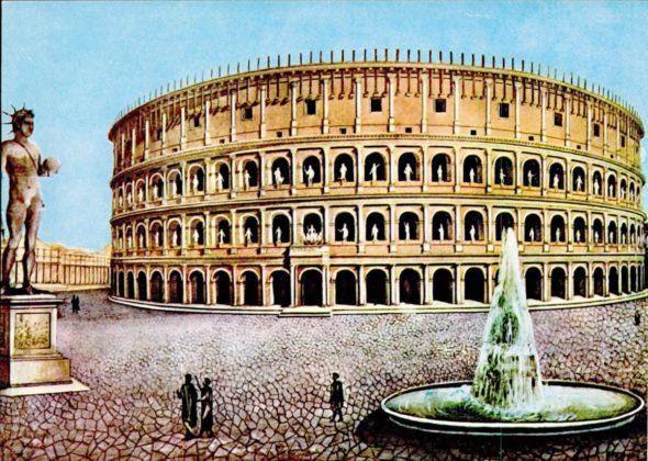 Koloseum - Kolos Nerona i Meta Sudans