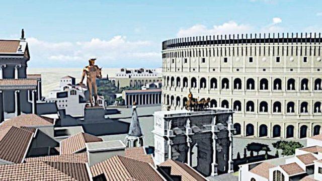 Koloseum - Kolos Nerona