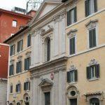 Kościół św. Stanisława Biskupa w Rzymie - fasada