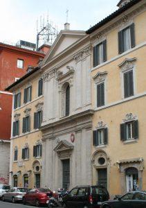 Kościół polski w Rzymie - fasada
