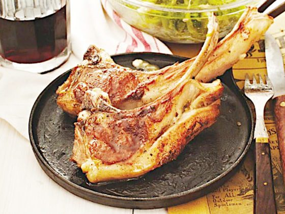 Kuchnia rzymska - danie Abbacchio alla scottadito
