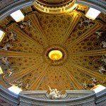 Rzym - wnętrze kopuły kościoła św. Andrzeja na Kwirynale
