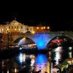 Rzym - lato nad Tybrem