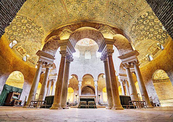 Rzym - Mauzoleum Konstancji - wnętrze