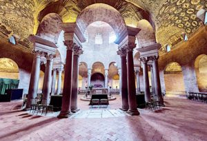 Mauzolemu Konstancji - wnętrze