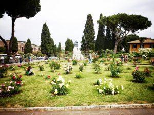 Ogród różany w Rzymie