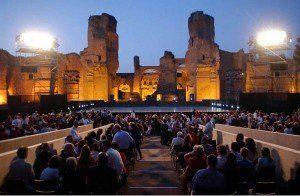 Rzym - opera w termach Karakalii