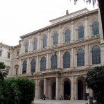 Rzym - fasada Pałacu Barberini