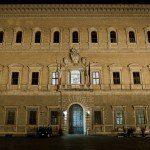 Rzym - fasada pałacu Farnese