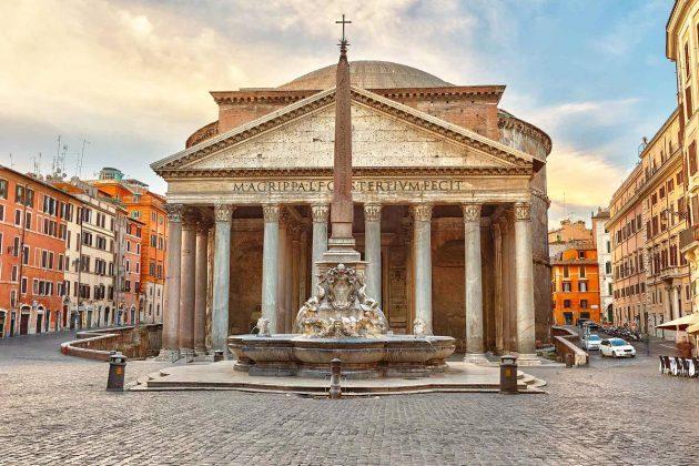 Panteon w Rzymie - fasada