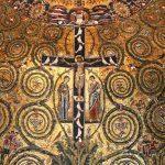 Rzym - bazylika San Clemente - fragment mozaiki