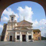 Rzym - Sanktuarium Divino Amore - stary kościół