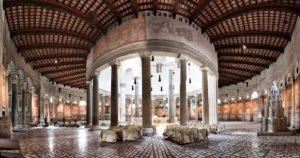 Rzym - bazylika Santo Stefano Rotondo - wnętrze