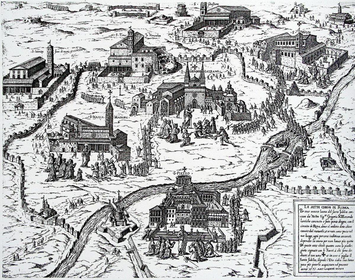 Rzym - pielgrzymka do siedmiu kościołów