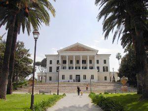 Rzym, Villa Torlonia - Casino Nobile, fasada
