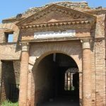 Stara Ostia - brama