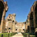 Termy Karakalli - ruiny