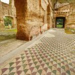 Termy Karakalli - mozaiki podłogowe