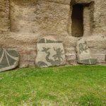 Termy Karakalli - mozaiki ścienne