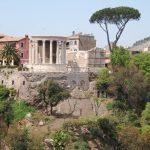 Tivoli - świątynie Westy i Sibilii Tiburtyńskiej