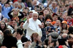 Audiencja u papieża - Papież Franciszek - audiencja na placu św. Piotra