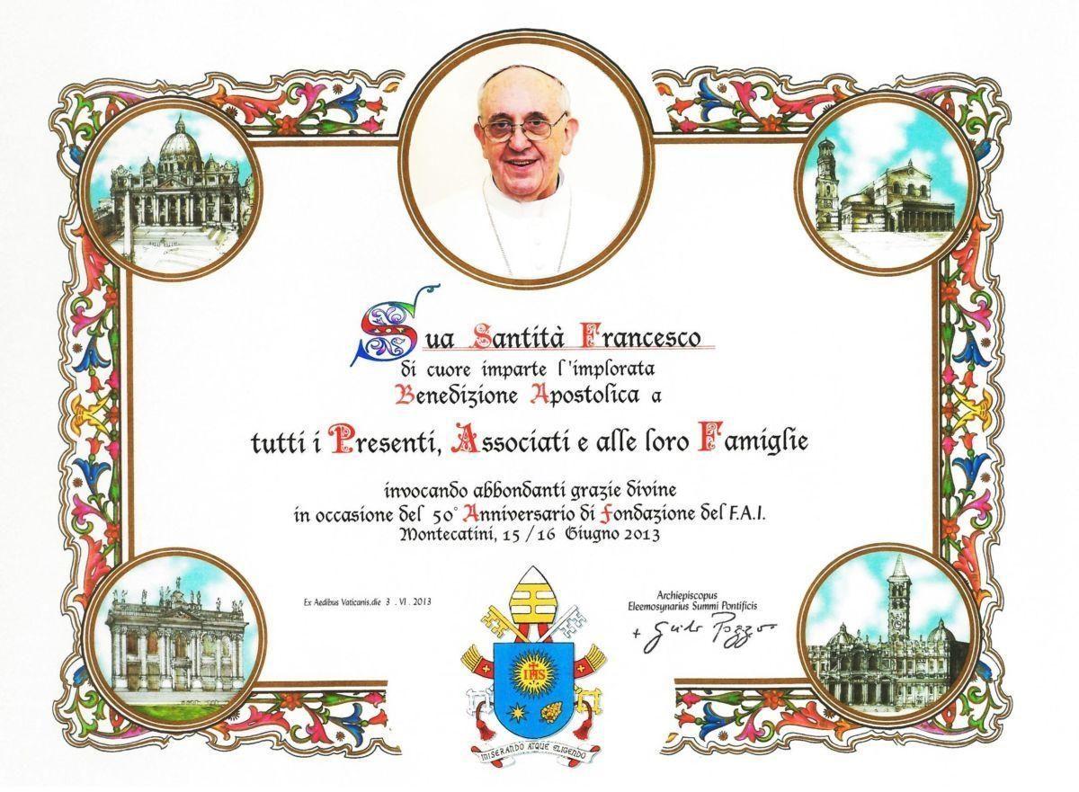 Blogoslawienstwo Papieskie Na Pismie Dyplom Wydawca Ceny