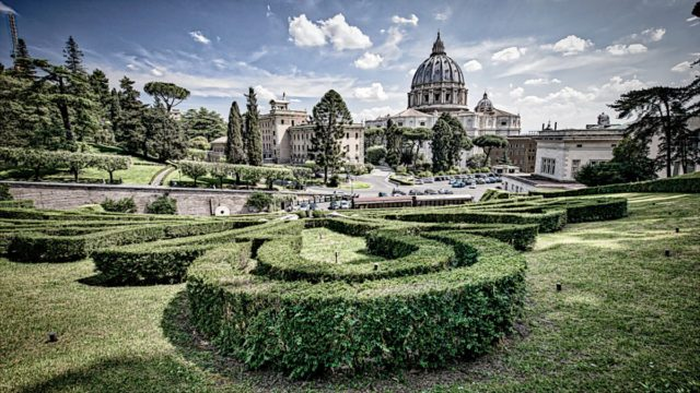 Watykan - ogrody