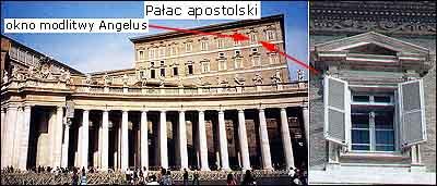 """Watykan - okno modlitwy """"Anioł Pański"""""""