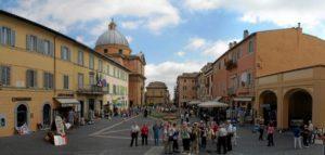 Castel Gandolfo - rynek