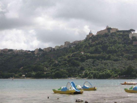 Castel Gandolfo - Jezioro Albano - plaża