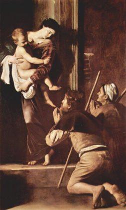 Caravaggio - Madonna pielgrzymów